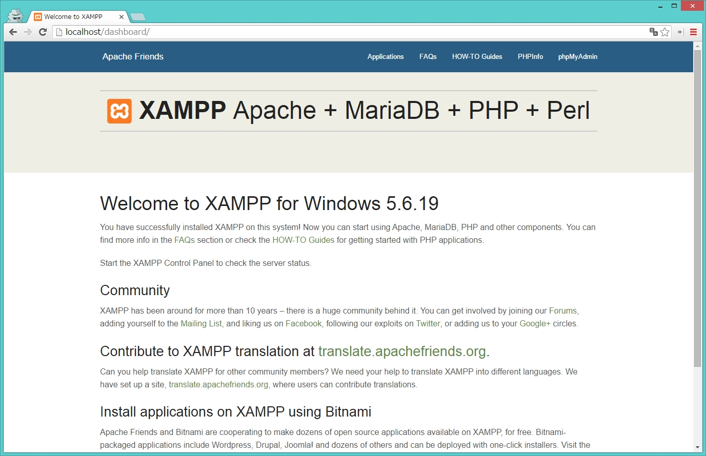 2016-03-17 03_54_27-Welcome to XAMPP